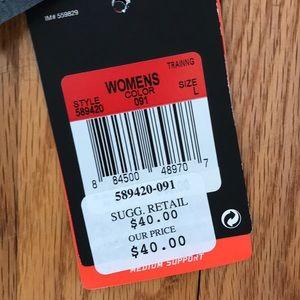 Nike Intimates & Sleepwear - NWT Nike Gray/Black sports bra.  Size L